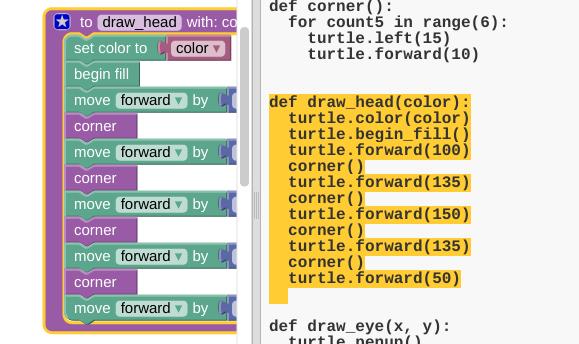 blocks-code-view