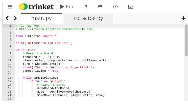 Add Files to your Python Trinkets – Trinket Blog